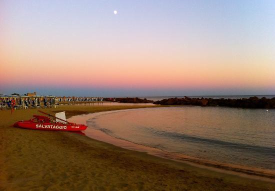 Santa Severa, Itália: Spiaggia