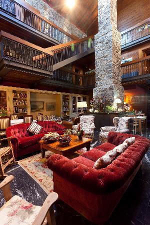 Hotel Antsotegi: Salón