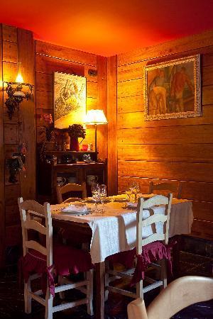 Hotel Antsotegi: Restaurante