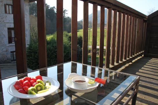 Hotel Antsotegi: Vista desde uno de los balcones