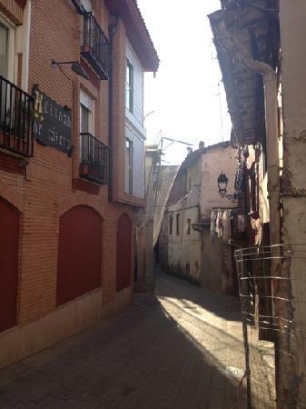 Hostal Ciudad de Najera: The hotel is on a little back street so it is quieter.