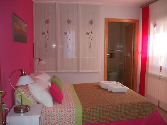 Allucant: habitacion doble cama 150cm planta baja adaptada minusvalidos