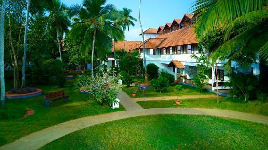 Puvar, Indien: Estuary Island Resort: Garden