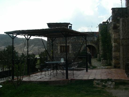 Refugio Romano: Patio