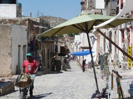 Refugio Romano: Streets of Real de Catorce