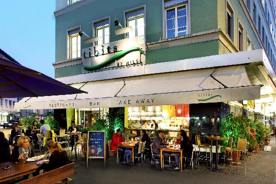 Photo of Modern European Restaurant tibits at Seefeldstrasse 2, Zurich 8008, Switzerland