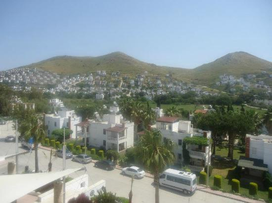 Grand Park Bodrum : view from my room