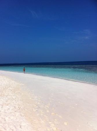 Bathala Island Resort: la spiaggia