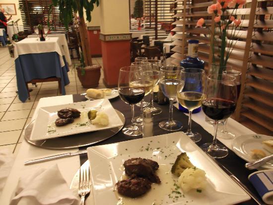Orihuela Costa Resort: cena degustacion