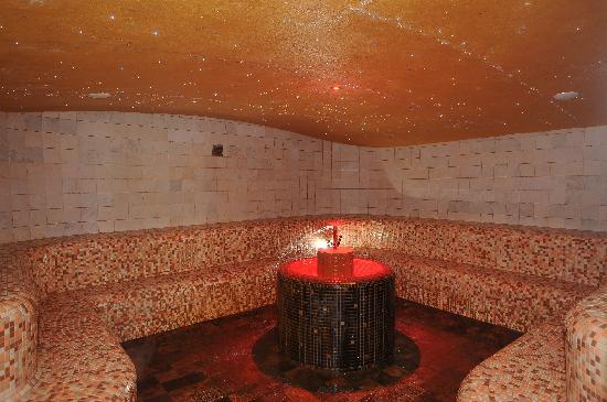 Petrarca Hotel Terme: Bagno turco con aroma e cromoterapia