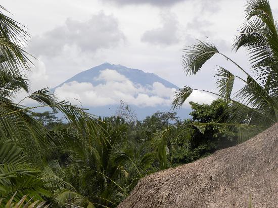 Mont AGUN vue de SAUDARA HOME
