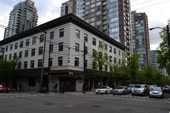 Moda Hotel: 建物