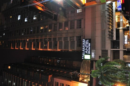 The A.Venue Hotel: The hotel facade