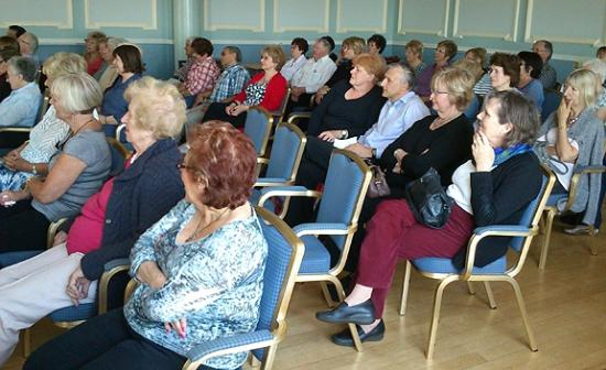 Hydro Hotel Eastbourne: Bridge audience at prize giving