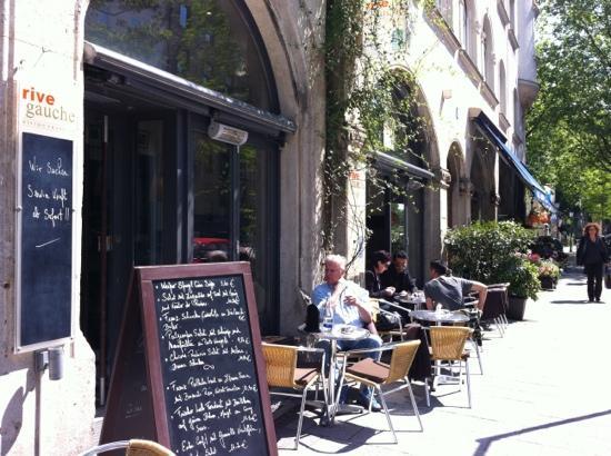 Rive Gauche : um ein Aperitif oder ein Espresso einfach die Sonne genießen