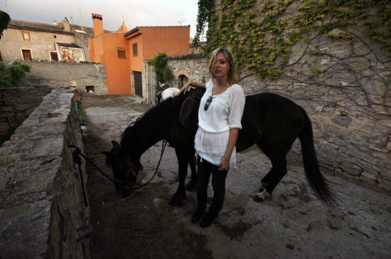 Cal Perello : One of the horses, Miel