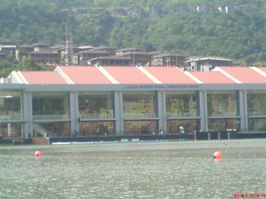 Lavasa, India: International convention center