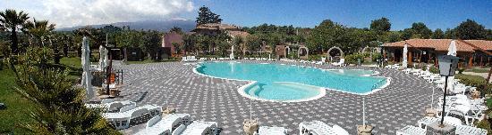 Castiglione di Sicilia, Italien: la struttura