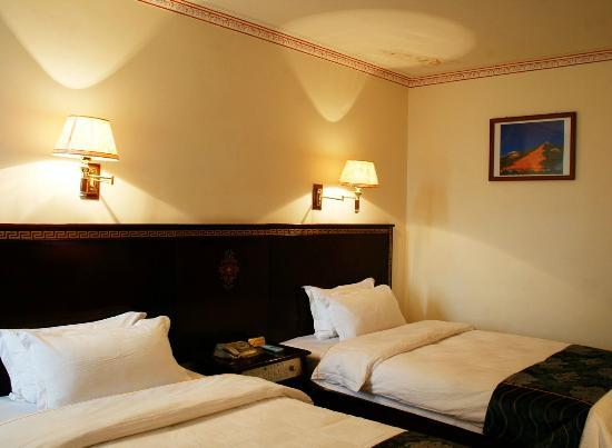 Yeti hotel Gyantse : Comfortable Spacious Room