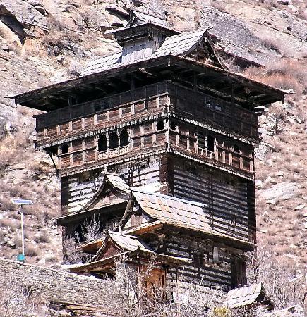 Kamru Fort: Closer View of Fort
