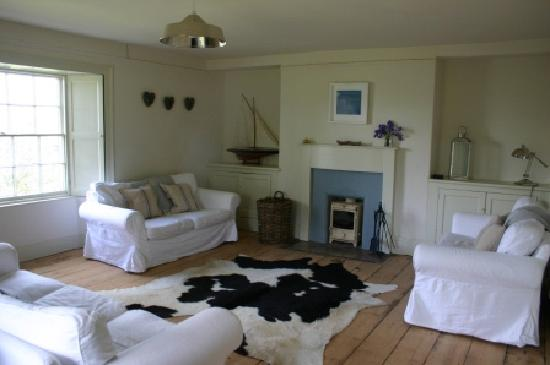 Greenway, UK: Sitting Room with Wood Burner