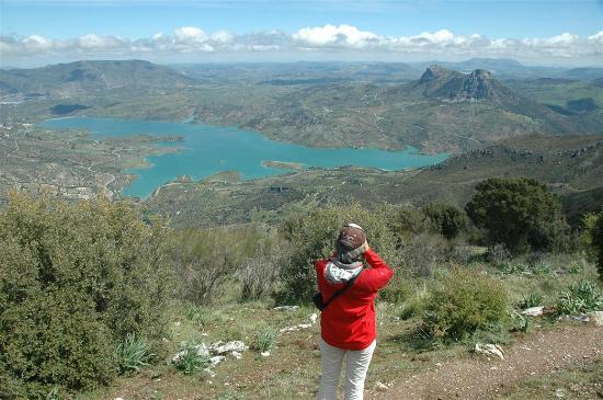El Gastor Village Lodgings B&B: hike starting at Panorama de Las Palomas