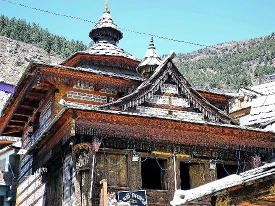 Sangla, India: Badri Vishal Temple
