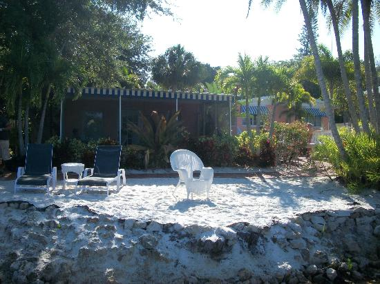 Siesta Key Bungalows: View from the dock - Turtuga