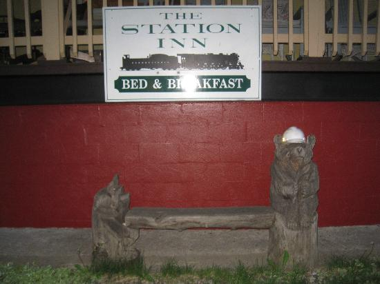 The Station Inn: Welcome!