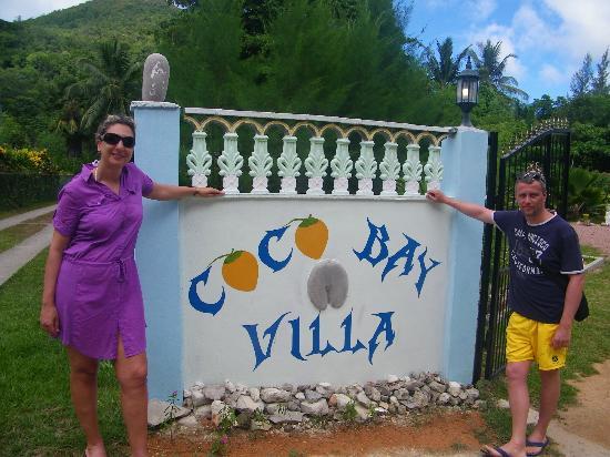 Coco Bay Villa: L'entrata alla villa