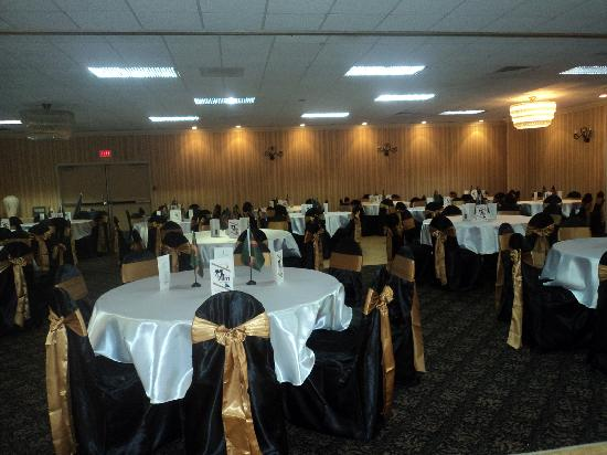 Lexington Hotel - Sudbury : Wedding Set Up
