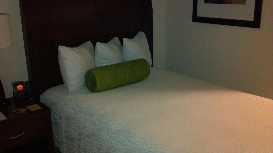 Hilton Garden Inn Hoffman Estates: Room bed
