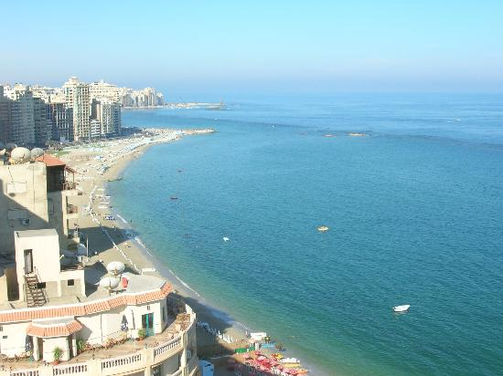 Sheraton Montazah Hotel : vue à partir de ma chambre