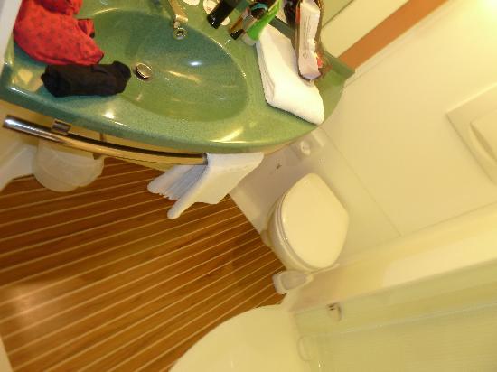 der andere teil vom badezimmer - picture of ibis muenster city, Badezimmer gestaltung