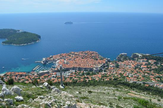Lafodia Hotel & Resort: Dubrovnik (view from cable car)