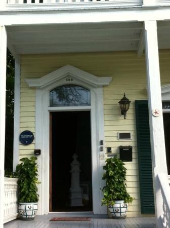La Pensione Inn: Front Door and Porch