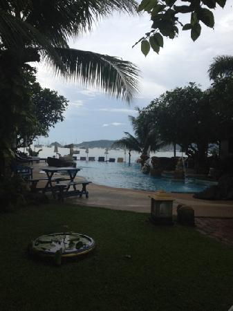 Ao Chalong Villa & Spa: view from the restaurant.