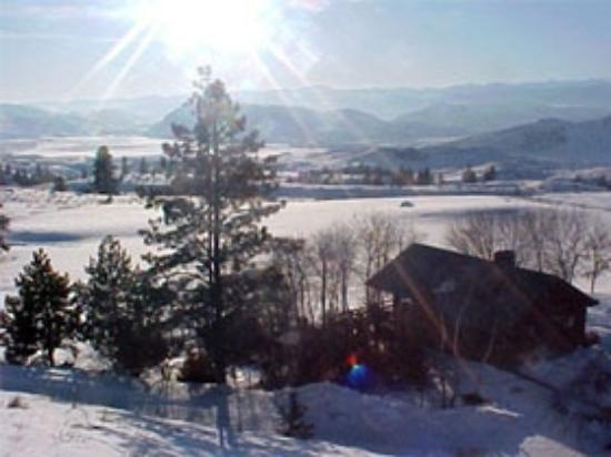 Serenity Day Spa & Lodging: A Winter Wonderland