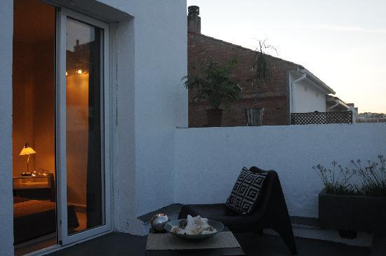 Hotel Ibiza: Habitación doble con terraza