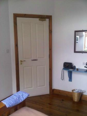 An Capall Dubh: door in spacious room - i had to write something!