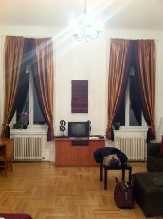Karma Boutique Apartments: salone