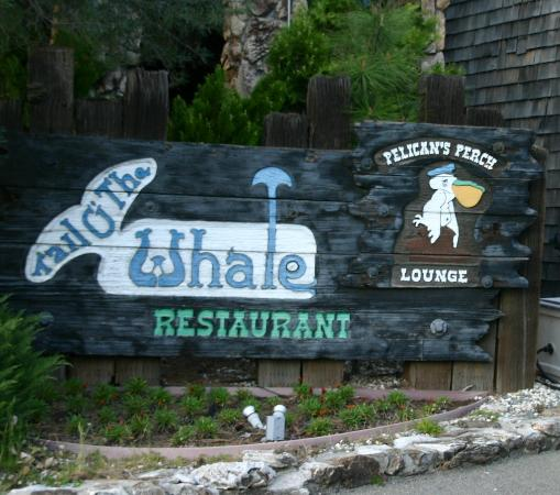 Tail O' The Whale Restaurant: At the front door