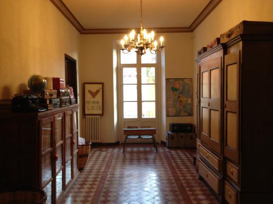 Aiguaclara Hotel: Upstairs hallway