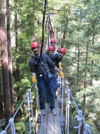 Sonoma Canopy Tours: Our Group!