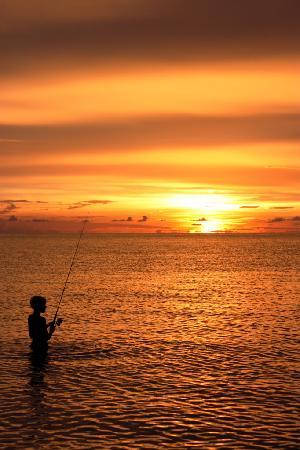 Kona Kai Motel: Enjoy fishing at sunset