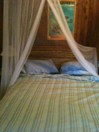 Hotel Pura Vida: one of our beds