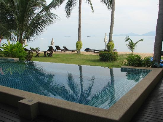Baan Bophut Beach Hotel: The Baan Bophut infinity pool