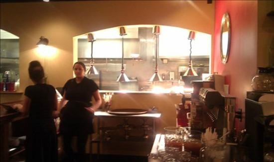 Cafe Franco's: Franco's kitchen where the magic happens