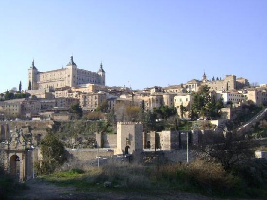 Alcantara Bridge : Puente de Alcántara, Toledo.