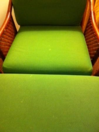 Isle Casino Hotel Black Hawk: Stains on the chair - YUCK